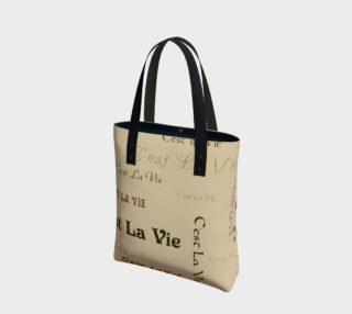 Aperçu de Coffee C'est la Vie Tote Bag