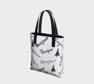 Bonjour Tote Bag preview