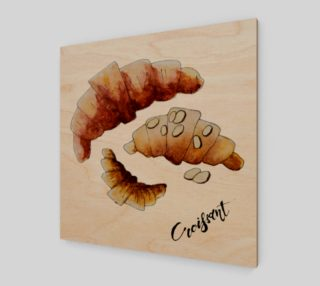 Morning croissant. preview