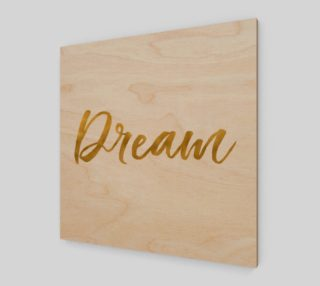 Gold White Inspirational Dream preview