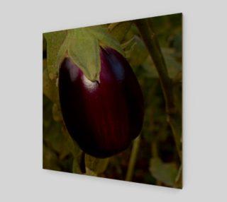 Purple Eggplant Wall Art preview