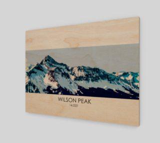 Wilson Peak Art Print preview