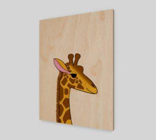 Aperçu de Georgia the Giraffe Artwork - 3:4