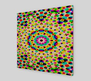 Colorful Dot Fantasy Canvas preview