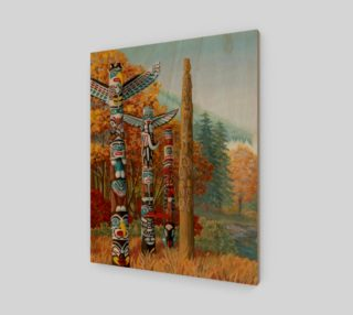 Vancouver Totem Painting Prints preview
