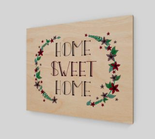 """Home Sweet Home Canvas Print - 20""""x16"""" preview"""