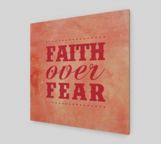 FAITH OVER FEAR preview