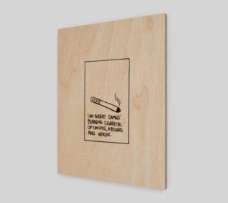 Albert Camus' Cigarette preview
