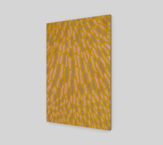 Organic Abstract Yellow Lime 2:3 Abstract Wall Art preview