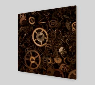 Steampunk Gears Poster preview