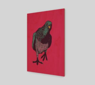 2:3 Poster - Curious Pigeon in Bright preview