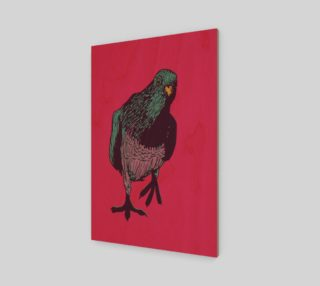 2:3 Art Print - Curious Pigeon in Bright preview