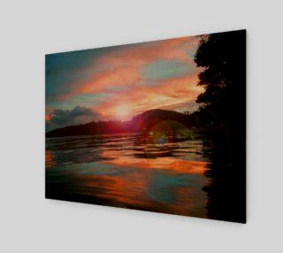 Always Believe Art Print Landscape preview