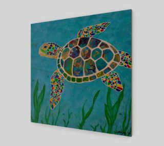 Peaceful Sea Turtle preview