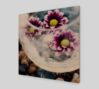 Purple Daisies Zen Wall Art preview