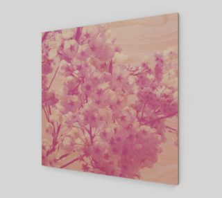 Cherry Blossom Wood Print preview