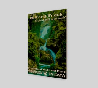 Milford Track Art Print preview