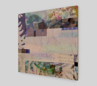 541 Trailing Petals Art by Delores Naskrent preview