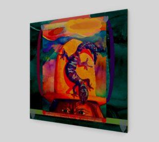 Lizard Wizard by Jilly Jesson Smyth - ArtbyJilly.com preview