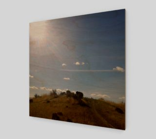 Boise Foothills Hand of God Wall Art preview