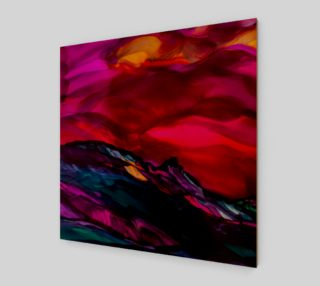 In the Shadows Alcohol Ink preview
