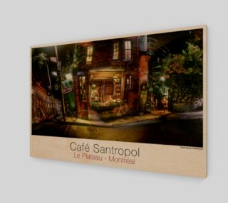 Cafe Santropol - Saint - Urbain & Duluth - Night View! preview