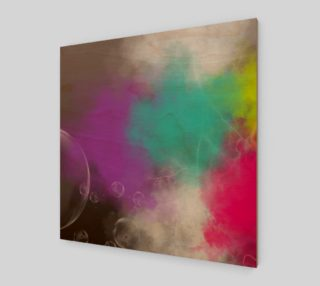 Abstract Clouds Acrylic Print preview