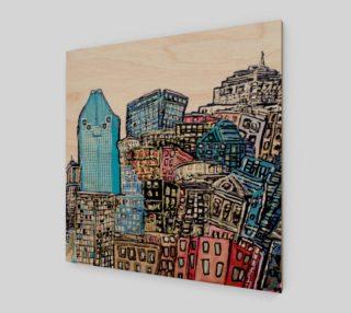 Montreal by Mélanie Bernard Art preview