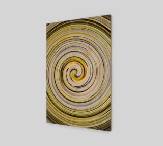 Yellow And Black Funky Swirl preview