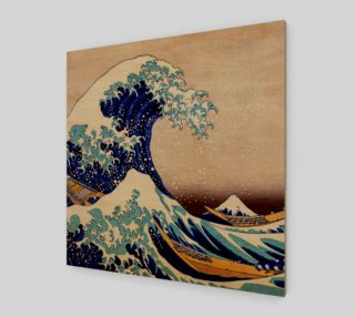 Katsushika Hokusai The Great Wave Off Kanagawa Art Print preview