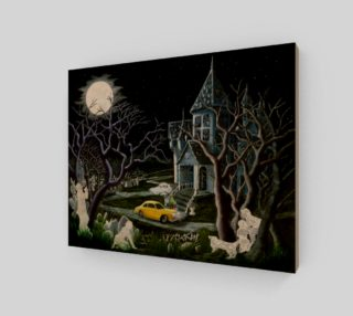 8 x 10 Haunted Inheritance wrapped canvas preview