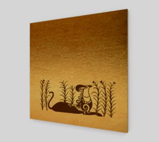 Knossos griffin on a gold background preview
