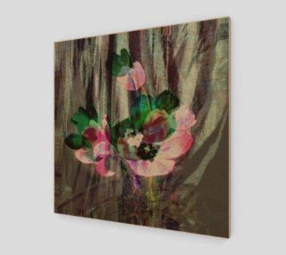 Color Muse 24x24 Watercolor Tulips  logo Poster preview