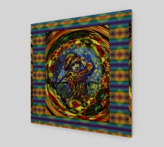 Glenna Collet Virtual Fractal Art Fashion-Match Print by Lowell SV Devin preview