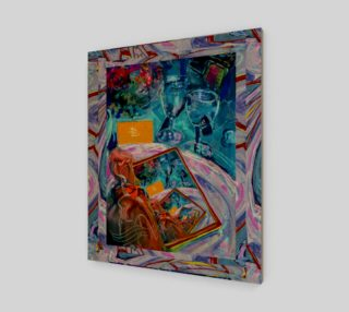Infinity Invitation Fashion-Match Wall Art Print  preview