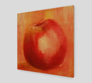 Art Print//Red Apple preview