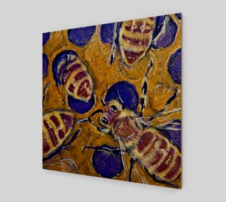 Busy Beehive Fashion-Match Wall Art preview