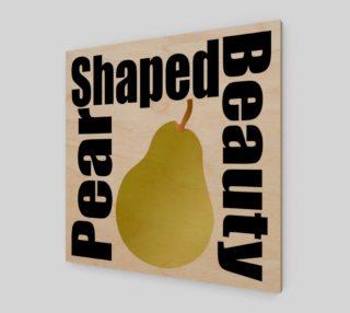 Aperçu de Pear Fruit Wall Art 190120F
