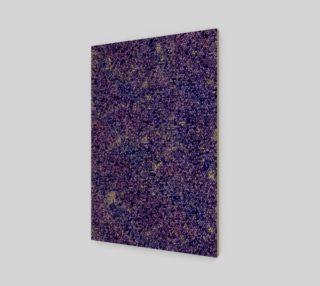 Purple Night Sky Triangle Mosaic preview