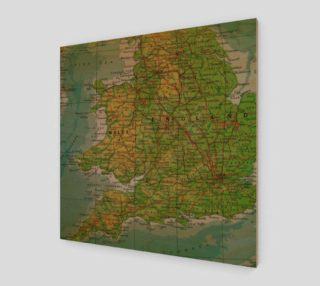 Vintage Map of England preview