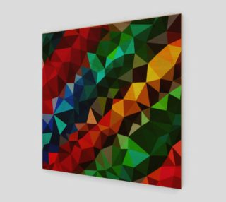 Multi-color abstract geometric preview