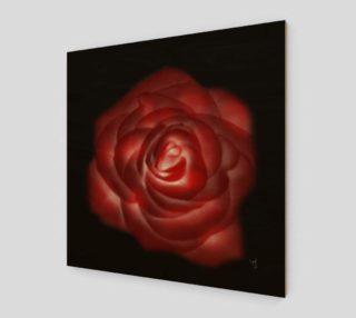 Glowing Rose Fine Art print by Tabz Jones preview