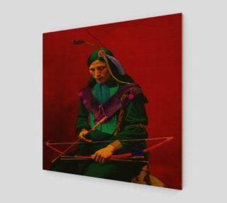Aperçu de Cherokee Indian Pop Art