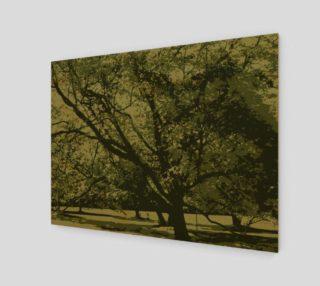 Illustrious Tall Tree Print preview
