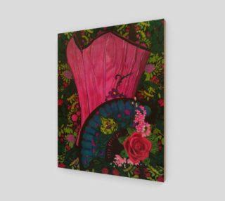 Aperçu de Pink Corset Modern Goth Art by Tabz jones