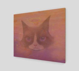 "Cosmic Cat Wall Art 24"" x 20"" preview"