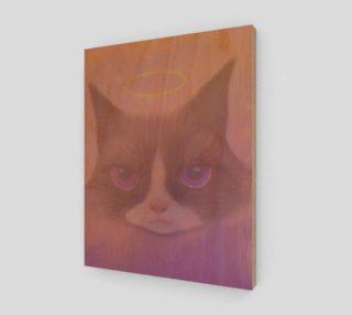 "Cosmic Cat Wall Art 11"" x 14"" preview"