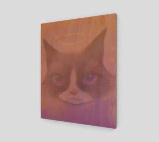 "Cosmic Cat Wall Art 16"" x 20"" preview"