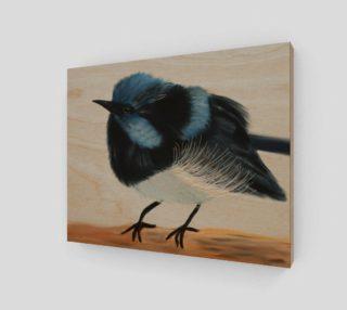 """Blue Wren Wall Art 10"""" x 8"""" preview"""