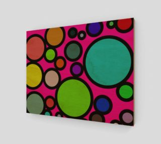 "Circles Galore Wall Art 14"" x 11"" preview"